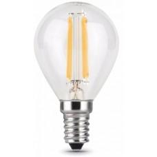 Лампа Gauss LED Filament Шар E14 7W 580lm 4100K 1/10/50 105801207