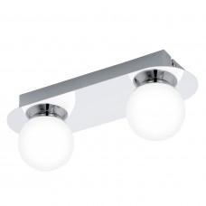 94627 Светодиодный настен.-потол. светильник MOSIANO, 2x 3,3W (LED), IP44, L300, хром/опаловое стекл 94627