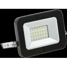 Прожектор СДО 06-20 светодиодный черный IP65 6500 K IEK LPDO601-20-65-K02
