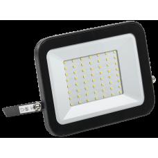 Прожектор СДО 06-50 светодиодный черный IP65 6500 K IEK LPDO601-50-65-K02