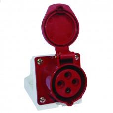 Розетка стационарная наружная 134 3Р+РЕ 63А 380В IP67 EKF PROxima ps-134-63-380