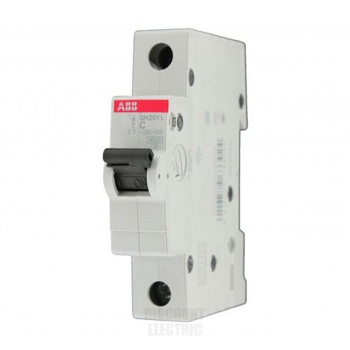 ABB SH201L Автоматический выключатель 1P 16А (C) 4,5kA 2CDS241001R0164