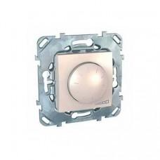 SE Unica Беж Светорегулятор LED поворотно-нажимной, универсальный 4-400Вт MGU5.513.25
