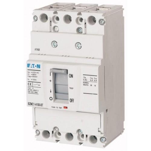 BZMB1-A16-BT Автоматический выключатель 16А, номинальное напряжение  400/415 В (АС), 3 полюса, откл.способность 25кА, хомутные Зажимы 109735