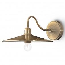 51123 Светильник Бра L=30 cм, d=25 см, 1*40 Вт, Е-14,  Milan, антична бронза 51123