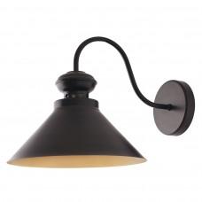 19371 Светильник Бра L=35 cм, d=25 см, 1*40Вт, Е-14, LOFT, черный 19371