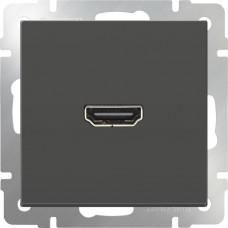 Розетка HDMI (серо-коричневый)/WL07-60-11 a036561