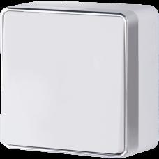 Выключатель одноклавишный проходной Gallant (белый)/WL15-01-03 a051570