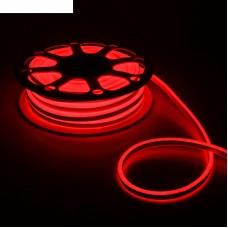 LS720 120SMD(2835)/м 9,6Вт/м 220V IP67, длина 50м, красный, неоновая 29562