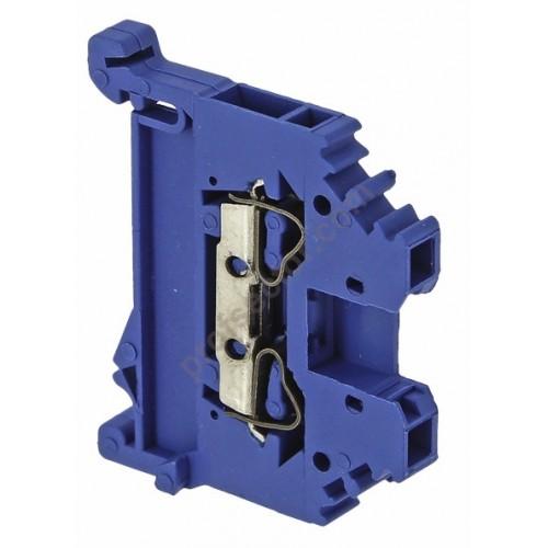 Колодка клеммная самозажимная  JXB-S-4 32А синяя EKF PROxima plc-jxb-s-4b