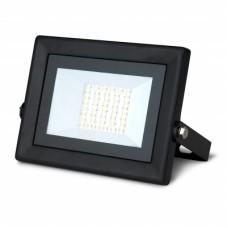 Прожектор светодиодный Gauss Qplus 30W 3000lm IP65 6500К черный 1/10 613511330