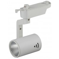 TR1 - 10 WH Трековый Светильник ЭРА 10Вт белый COB (30/360) Б0032097