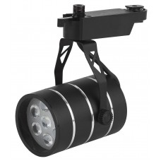 TR3 - 7 BK Трековый Светильник ЭРА 7Вт черный SMD (30/360) Б0032108