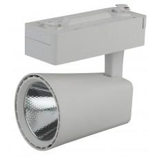 TR4 - 10 WH Трековый Светильник ЭРА 10Вт белый COB (40/480) Б0032112