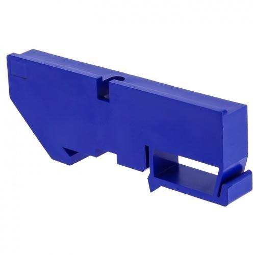 Изолятор на DIN-рейку синий EKF PROxima ak-1-3