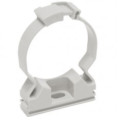 Хомутный держатель серый CFC16 IEK CTA10MP-CFC16-K41-100