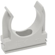 Хомутный держатель серый CFC20 IEK CTA10MP-CFC20-K41-100