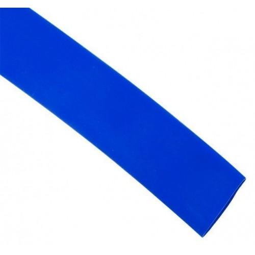 Термоусаживаемая трубка ТУТ 20/10 синяя в отрезках по 1м EKF PROxima tut-20-g-1m