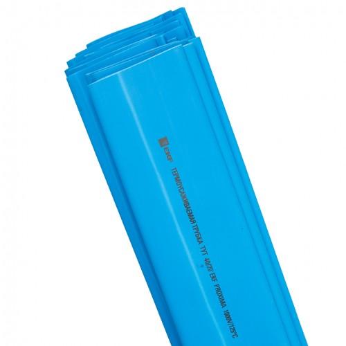 Термоусаживаемая трубка ТУТ 30/15 синяя в отрезках по 1м EKF PROxima tut-30-g-1m