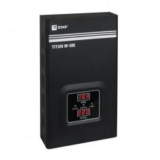 Стабилизатор напряжения настенный TITAN W-500 EKF PROxima stab-w-500