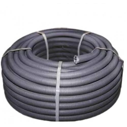 Труба гофр. FPHF  с зондом d50мм (20м.) черная Plast EKF PROxima FRHF-50