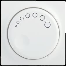НС-1-1-ББ Накладка к светорегулятору BOLERO белый IEK ENB10-D-K01