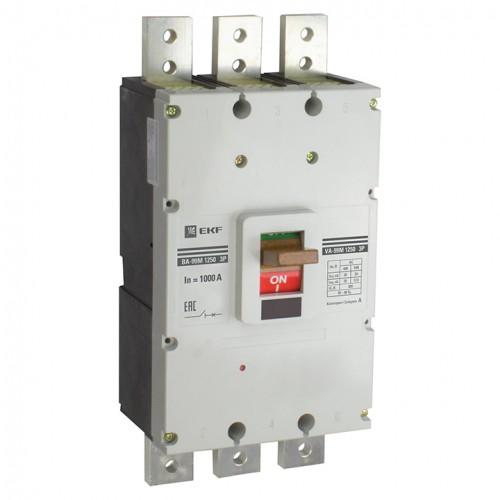 Выключатель автоматический ВА-99М 1250/1250А3P35кАEKF PROxima mccb99-1250-1250m
