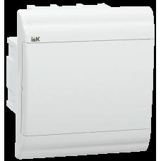 Бокс ЩРВ-П-4 модуля встраив.пластик IP41 PRIME белая дверь MKP82-V-04-WD-41-20