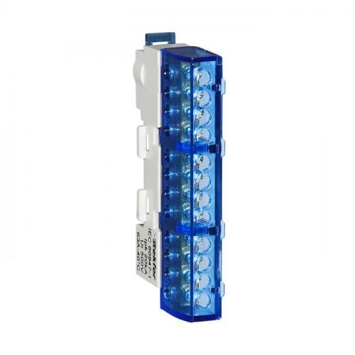 Шина нулевая неизолированная KSN-7-6x9-14-Ni BLUE 06-08-041