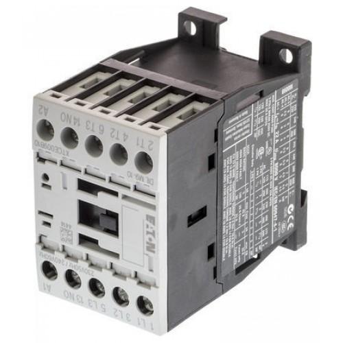 DILM9-10(24V50/60HZ) Контактор 9 А,  управляющее напряжение 24В (АС), 1 НО доп. контакт, категория применения AC-3, AC-4 276694