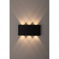 WL12 BK Декоративная подсветка светодиодная ЭРА 6*1Вт IP 54 черный Б0034611