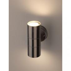 WL16 Декоративная подсветка 2*GU10 MAX35W IP54 хром Б0034616