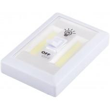 FN1208 1LED 3W Светодиодный светильник с переключателем 200Lm, 115*75*35мм, белый 23379