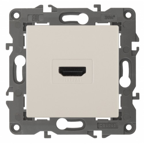 14-3114-02 ЭРА Розетка HDMI, IP20, Эра Elegance, сл.кость Б0034333