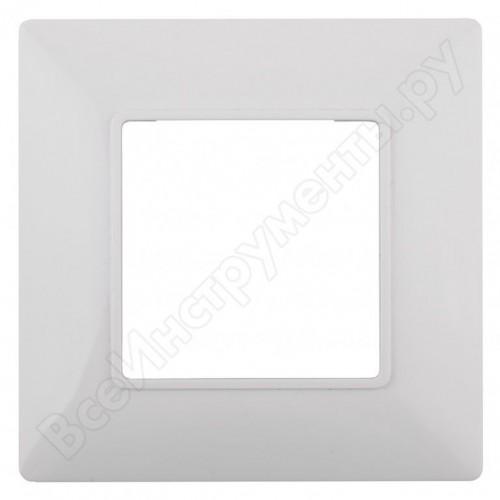 14-5001-01 ЭРА Рамка на 1 пост, Эра Elegance, белый Б0034381