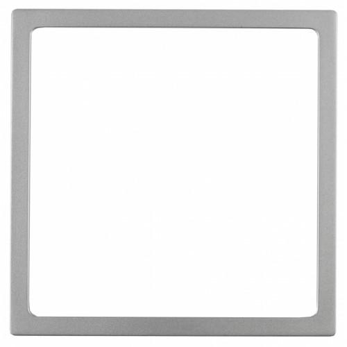 14-6001-03 ЭРА Декоративная рамка, Эра Elegance, алюминий Б0034591