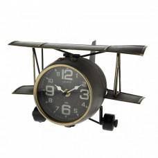 Часы Аэроплан, 26.5x19.5x15см,  красный 5500011723242