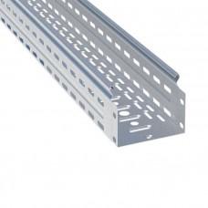 Лоток перфорированный металлический 100х100х3000-0,7мм (24м) EKF L10010001