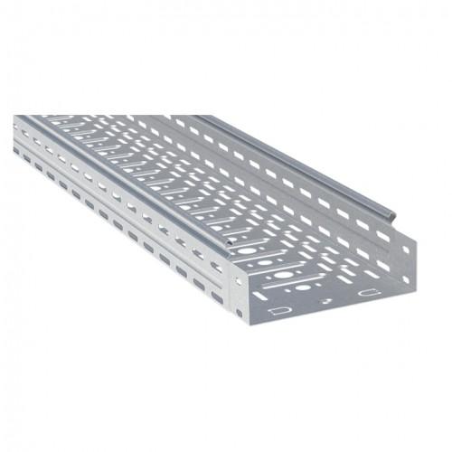 Лоток перфорированный металлический 80х500х3000-1,0мм (6м) EKF L8050001