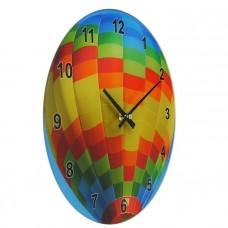 Часы настенные Воздушный шар, 25x14x50см, голубой 5500011723220