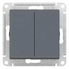 AtlasDesign Грифель Выключатель 2-клавишный сх.5, 10АХ, механизм ATN000751