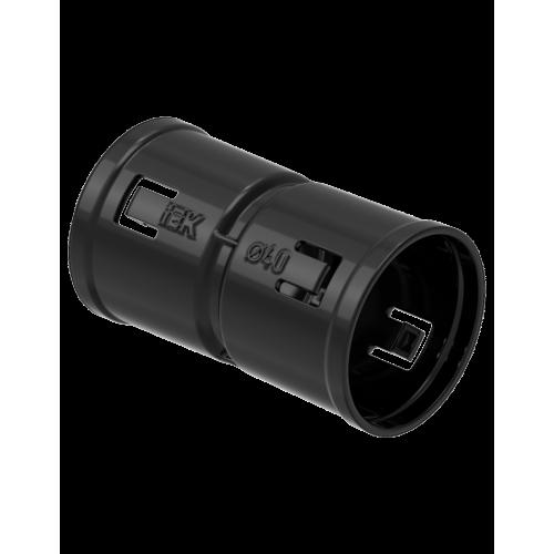 Муфта соединительная для двустенной трубы d=40мм IEK CTA12D-M040-K02-R
