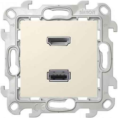 Коннектор HDMI 1.4, сл кость 2411094-031