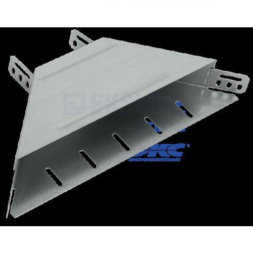 Отвод Т-образный горизонтальный 50х200 IEK CLM50D-OTG-050-200