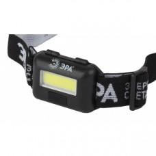 GB-607 Фонарь ЭРА налобный с влагозащитой [3Вт COB LED Extra, 3хААА, бл] Б0039620