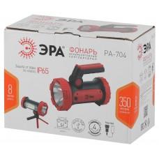 PA-704 Фонарь ЭРА прожекторный [10W SMD+ COB, литиевый акк 6000мАч/ 3,7V, IP65, microUSB, PowerBank Б0041473