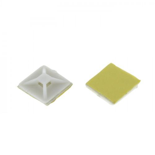 Площадка самоклеящаяся (20х20мм.) белая (100шт.) EKF PROxima plc-20x20