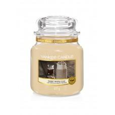 Свеча средняя в стеклянной банке Сладкий кленовый чай Sweet Maple Chai 411 гр / 65-90 часов 1623472E