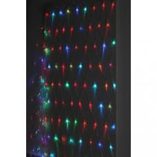ENIS-01R  ЭРА Гирлянда LED Сеть 1,8 м*1,5 м RGB 8 режимов, 220V, IP20 Б0041902