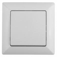 4-101-01 Intro Выключатель, 10А-250В, СУ, Solo, белый (10/200/2400) Б0043263